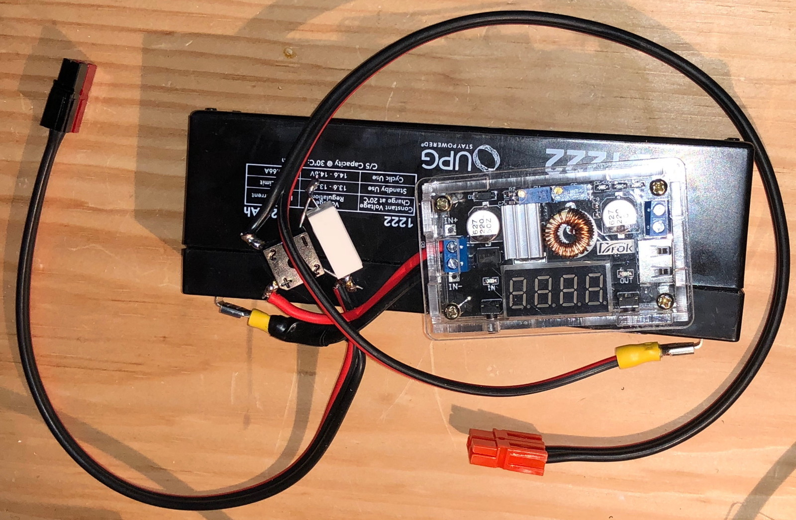 Tarpn Robust Power For Raspberry Pi Is Unplugged From Before Connecting Anything To The Make Sure You Adjust Output Voltage 52 Or So Plugging In Youll Up System